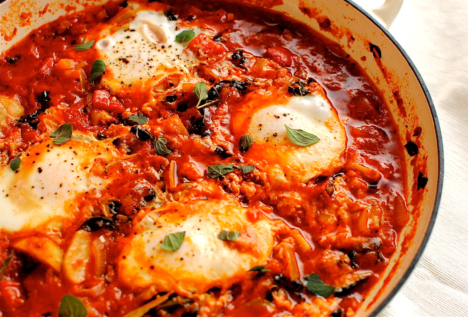 Easy shakshuka spiced north african tomato and eggs food to glow easy shakshuka spiced north african tomato and eggs forumfinder Image collections