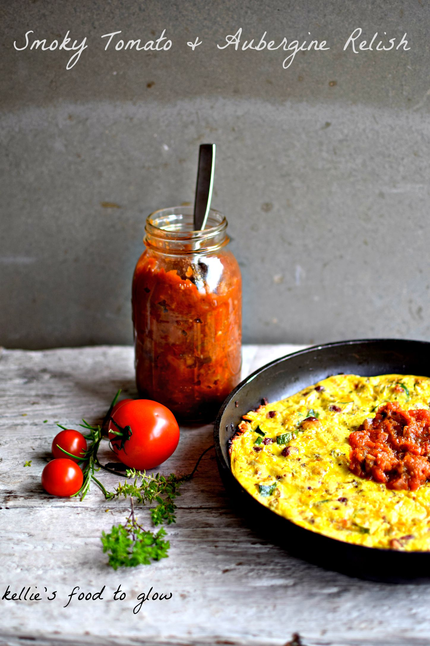 Smoky Tomato Aubergine Relish Sauce Plus Ways To Use It Food To Glow