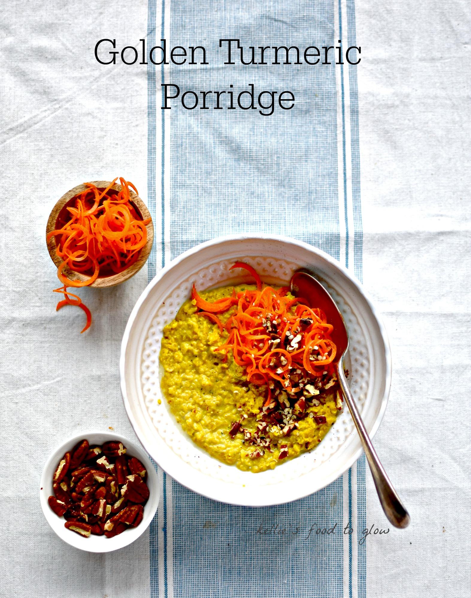 Golden turmeric porridge an immune boosting recipe food to glow forumfinder Image collections