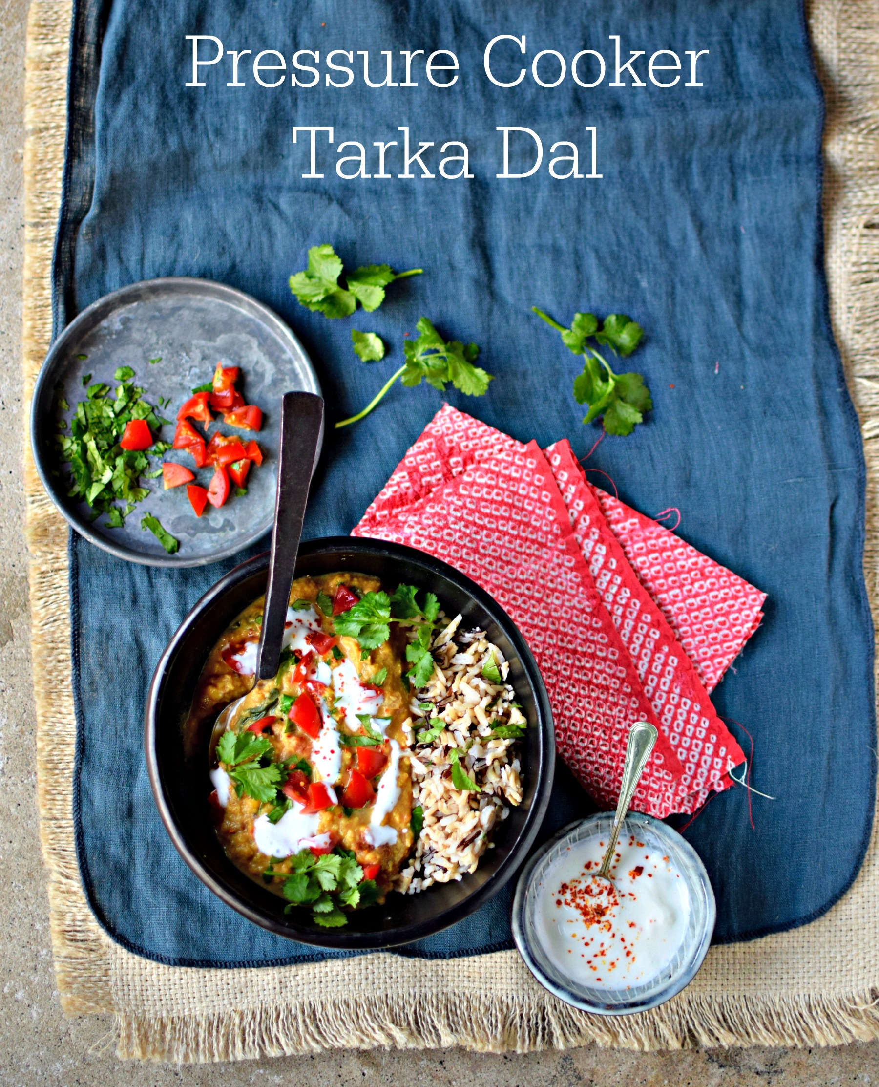 How to make creamy tarka dal in your pressure cooker food to glow if you are craving dal but time is tight use your pressure cooker to make forumfinder Gallery