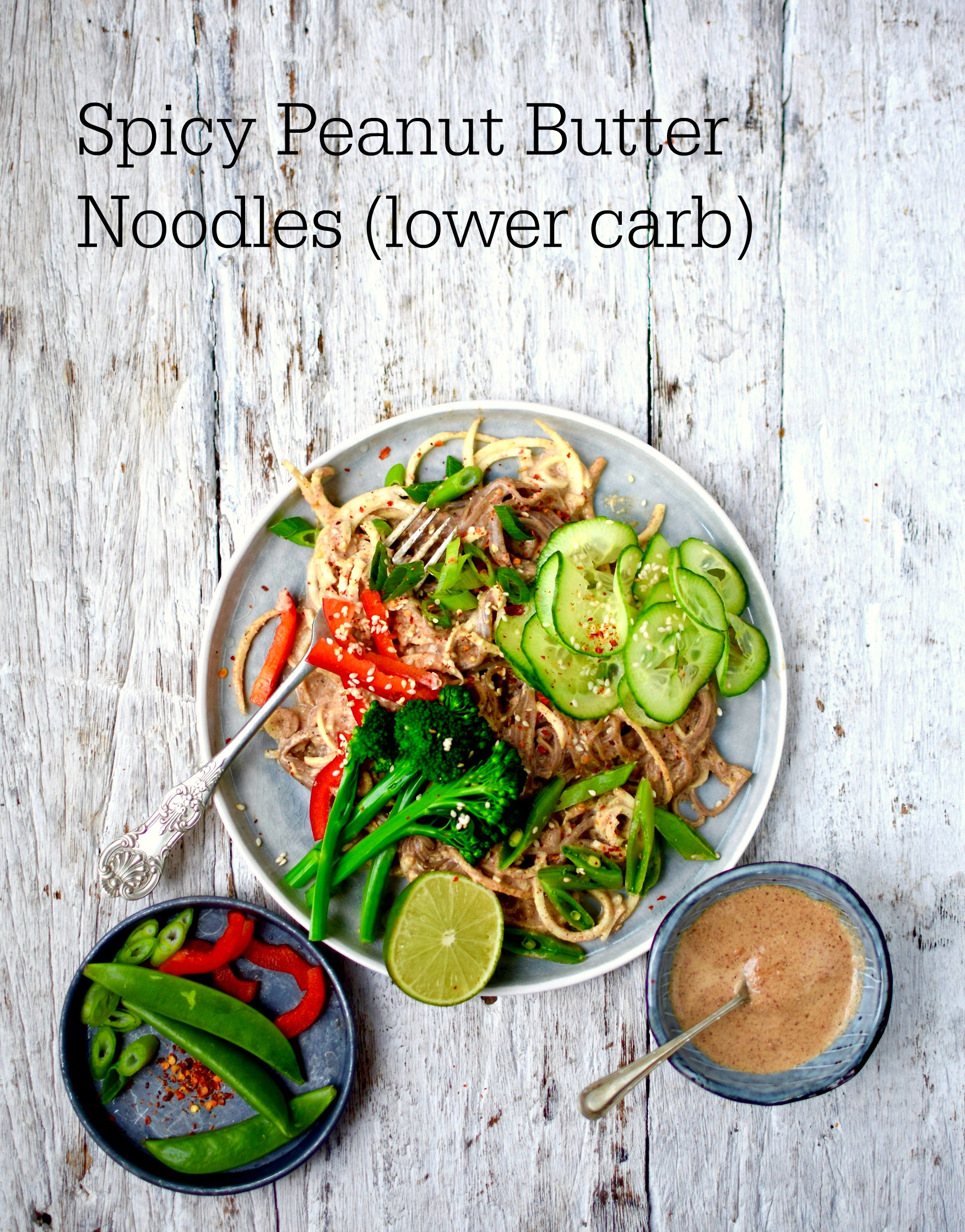Spicy asian peanut butter noodles a healthy chinese new year feel good food thats good for you forumfinder Choice Image