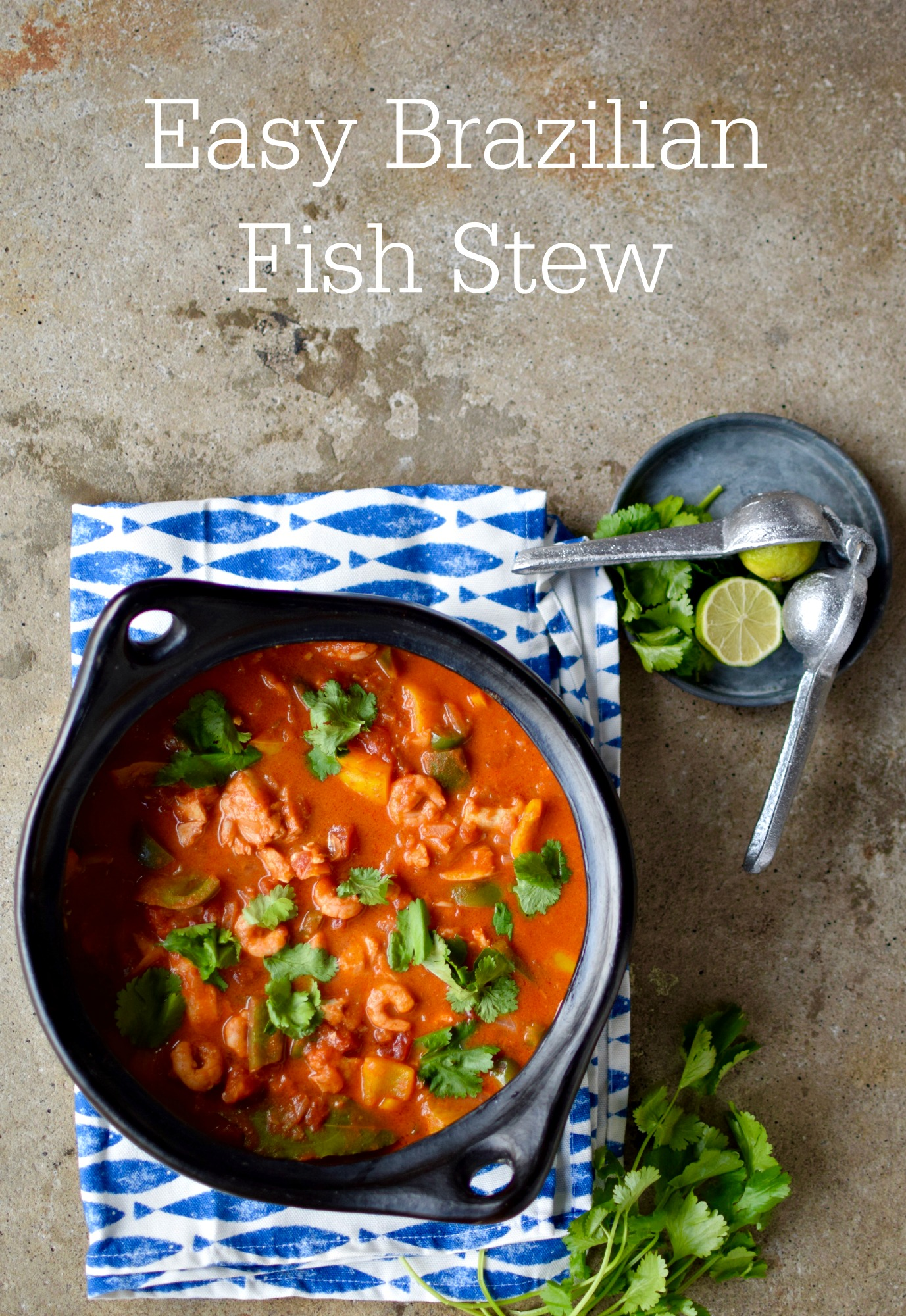 Amazing moqueca brazilian fish stew food to glow creamy coconut milk is the secret to turning frozen fish onions peppers tomatoes forumfinder Images