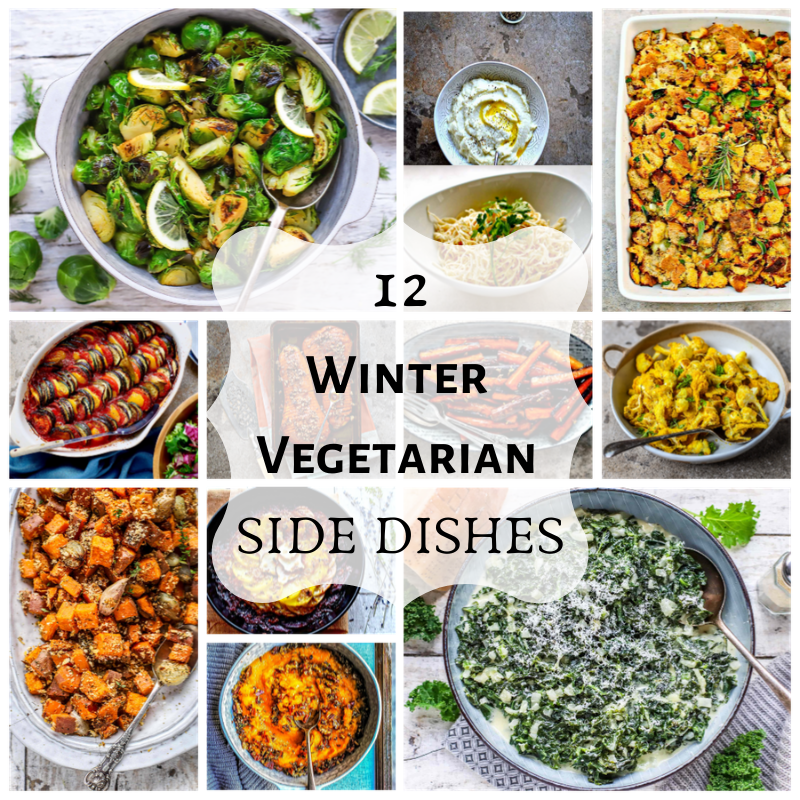 12 Winter Vegetarian Side Dishes